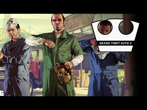 Jirka a GOGO vs Selassie a Evžen Hraje - GTA V - Hasta La Vista [PC]
