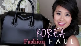 Korean Fashion Haul + BEAUTY GIVEAWAY Thumbnail