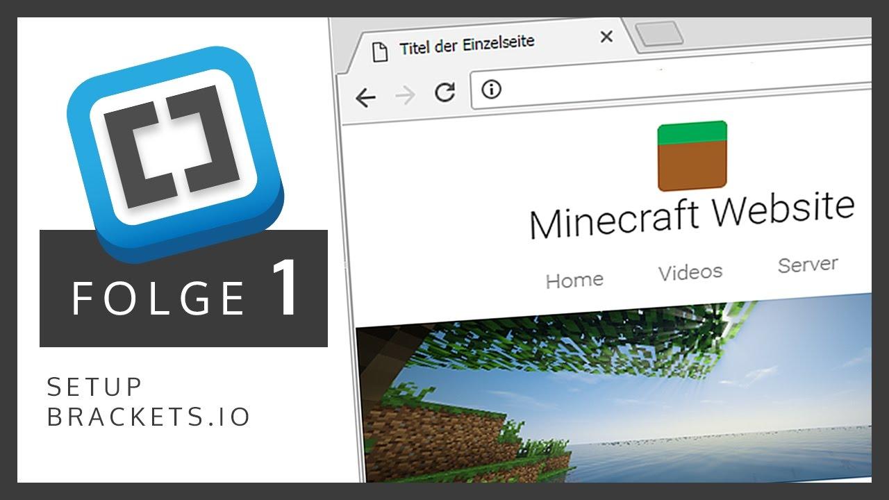 Minecraft Website Erstellen HTMLCSS Für Anfänger Deutsch - Minecraft server leicht erstellen