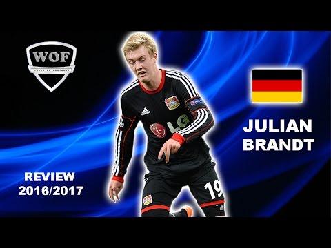 JULIAN BRANDT | Bayer Leverkusen | Goals, Skills, Assists | 2016/2017 (HD)