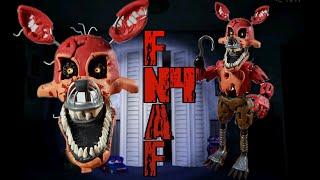 NIGHTMARE FOXY FNAF4😱😱.../PLASTILINA (PORCELANA, POLYMER CLAY)