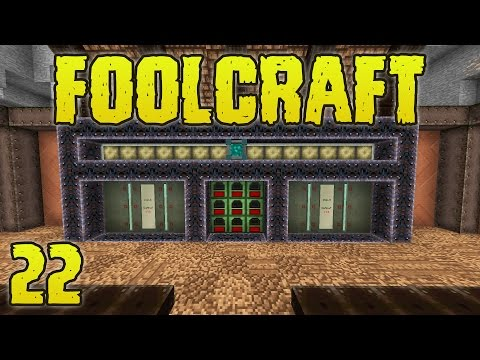 FoolCraft Modded Minecraft 22 Moving Into The Fortress!