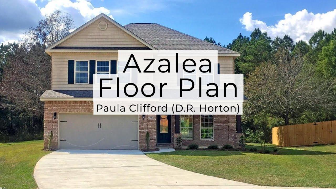 The Azalea Floor Plan D R Horton Youtube