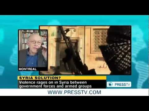 Michel Chossudovsky Discusses the Truth About Syria on PressTV
