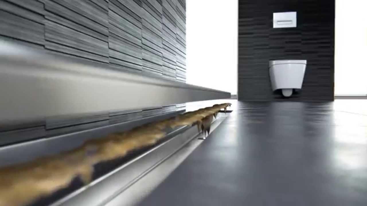 geberit cleanline 20 youtube. Black Bedroom Furniture Sets. Home Design Ideas