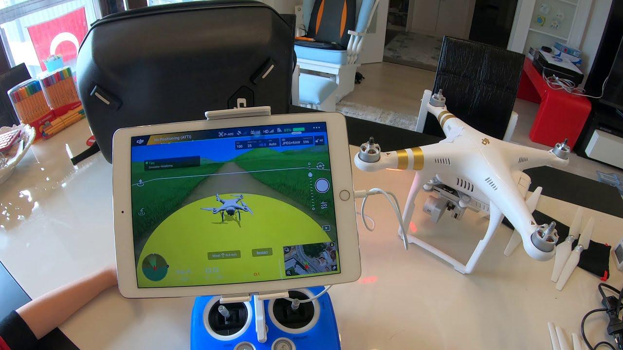 DJI Phantom 3 Pro Uçuş Ayarlar DJI GO Simulator 1 фотки