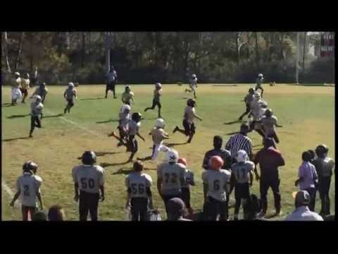 LYFL All Star East vs West Pee Wee Game 2016