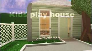 Roblox   Bloxburg: Kid play house   Speed build