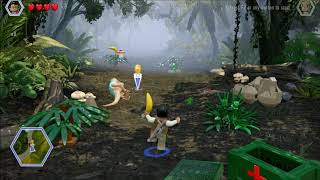 Lego Jurassic World. Curing a Dino. Shady Grove, Jurassic World.