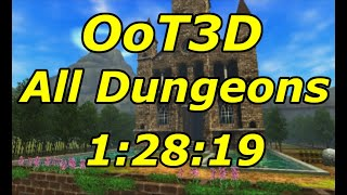 Ocarina of Time 3D All Dungeons Speedrun in 1:28:19