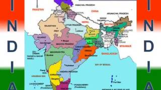 India State and capital Map | All State Map in India