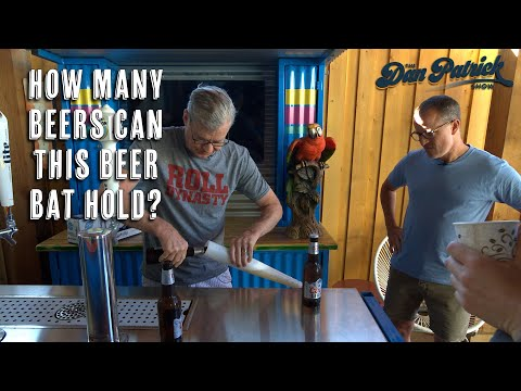 Look In: How Many Beers Can This Beer Bat Hold? | 06/17/21
