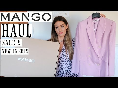 MANGO HAUL & TRY ON | JANUARY SALES & NEW IN 2019