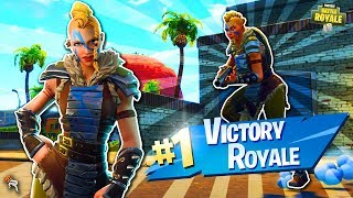 New Huntress Skin Lands at Paradise Palms! ⚔️ 1st Win of Season 5!| Fortnite Battle Royale Gameplay
