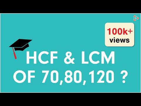 HCF and LCM of Three Numbers Part 1 ( GMAT / GRE / CAT / Bank PO / SSC CGL)