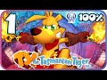Ty the Tasmanian Tiger HD 100% Walkthrough Part 1 (PS4) Level 1: Two Up