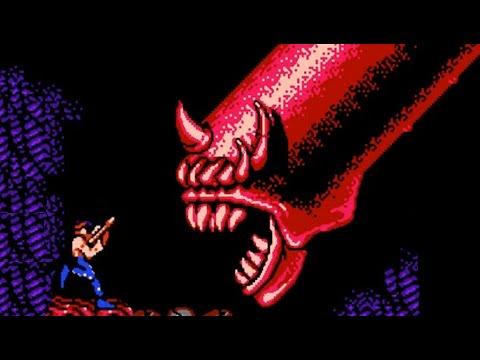 Contra (NES) All Bosses (No Damage)