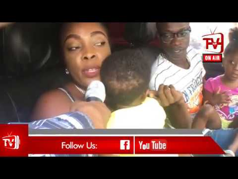 KK FOSU + WIFE AND KIDS SPEAK ON KOFI TV