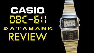 *REVIEW* Casio DBC611 Databank Vintage/Retro Digital Calculator Watch