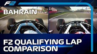 Only 0.003 Seconds Between Them! | Zhou vs Lundgaard | F2 Pole Lap 2021 Bahrain Grand Prix