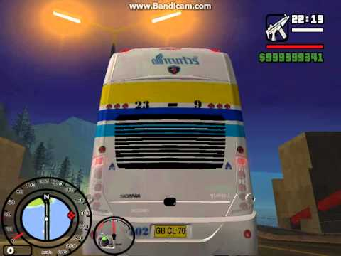 รถทัวร์ไทยGTA SAN ระบบเบรคลม