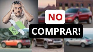 10 autos USADOS que NO debes comprar