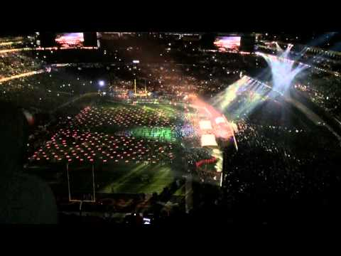 Super Bowl 48 XLVIII Halftime Show feat. Bruno Mars and Red