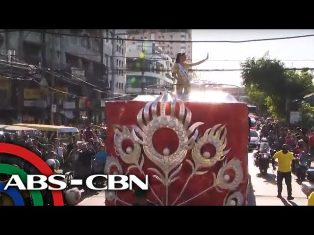 Watch Miss Universe 2018 Catriona Gray In Homecoming Parade 21 Feb 2019