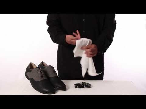 How to use a shoe cloth