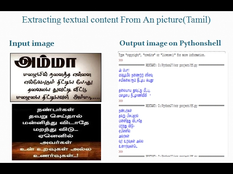How to do Tesseract ocr for differrent language using Python   Extract text  from image