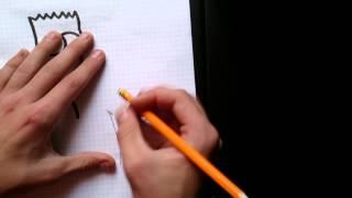 Как нарисовать Барта Симпсона.(Приятного просмотра и подписывайся на канал., 2014-10-12T07:27:23.000Z)