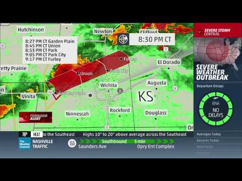 April 8, 2015 Tornado Coverage - The Weather Channel