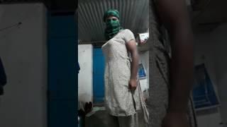 Desi cross dresser in silk salwar suit