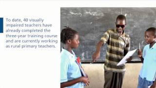 Helping Disabled Students in Mozambique
