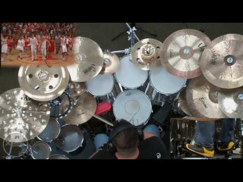 DRUMS ONLY We're All in This Together from High School Musical Drum Cover by Myron Carlos