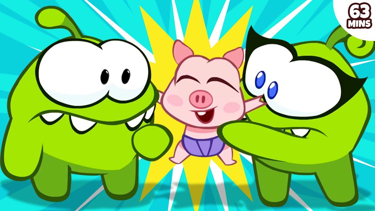 Om Nom Stories : Fantastic Festivities | Funny Cartoons And Videos For Kids | HooplaKidz TV