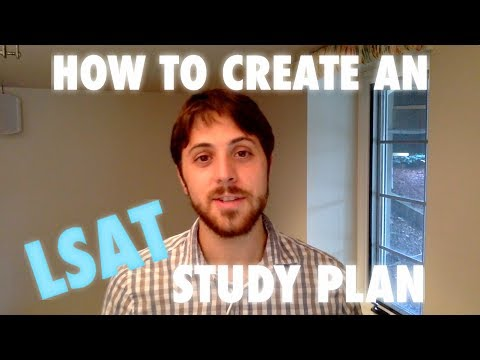 How to Create an LSAT Study Plan