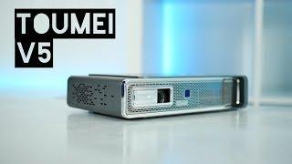 Wifi + Bluetooth 3D Smart Projector 2018 - TOUMEI V5 (New Model)