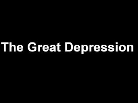 The Great Depression: Crash Course