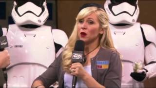 Ashley Eckstein Talks About Being Ahsoka Tano At Star Wars Celebration 2015