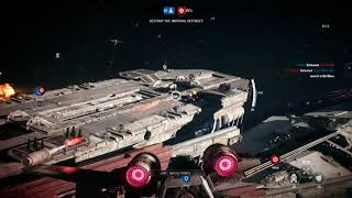 STAR WARS BATTLEFRONT II vaisseaux héros