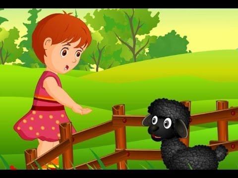 Baa Baa Black Sheep | Children Rhymes Nursery Songs with Lyrics