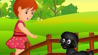 Baa Baa Black Sheep | Children Rhymes Nursery Songs with Lyrics