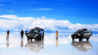 Самое большое зеркало мира. Солончак Уюни, Боливия