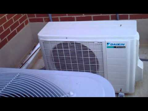 2 Carrier air conditioners and 1 silent daikin HVAC unit