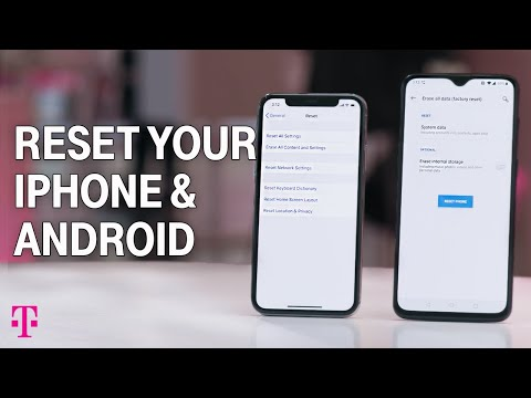 How To Reset IPhone And Android To Factory Settings | T-Mobile