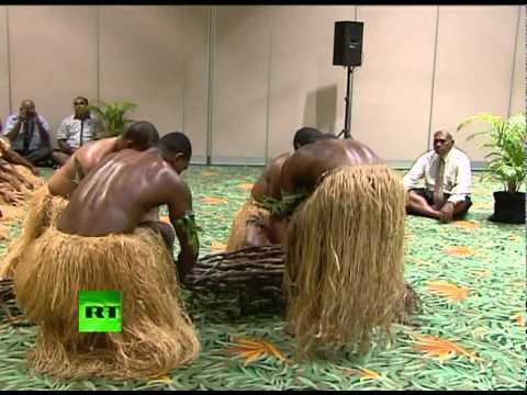 Лавров на Фиджи: