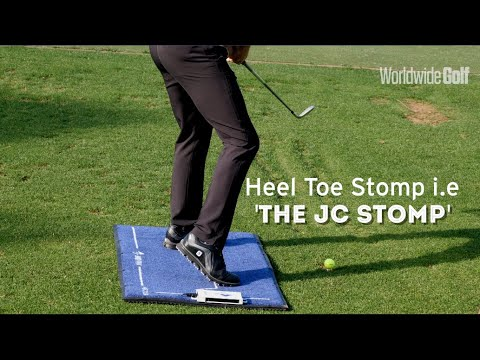 Learn the 'Heel Toe Stomp' to improve swing efficiency | by Jonathan Craddock