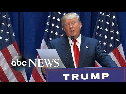 Top 10 Actual Things Donald Trump Said At His 2016 Presidential Campaign Announcement