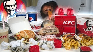 German KFC Menu Challenge